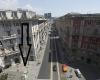 Accensione luci in V. XX Settembre a Genova