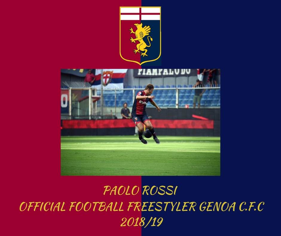 Official football freestyler Genoa cfc